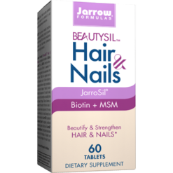 Jarrow Formulas BeautySil Hair amp Nails 60 tabs J10364