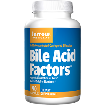 Jarrow Formulas Bile Acid Factors 90 caps J40020
