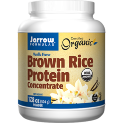 Jarrow Formulas Brown Rice Protein Conc. Vanilla 17.8 oz J10276