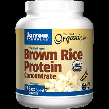 Jarrow Formulas Brown Rice Protein Conc. Vanilla 17.8 oz J10276