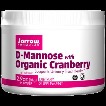Jarrow Formulas D Mannose with Organic Cran 30 servings J90698