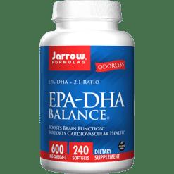 Jarrow Formulas EPA DHA Balance Odorless 240 softgels J60397