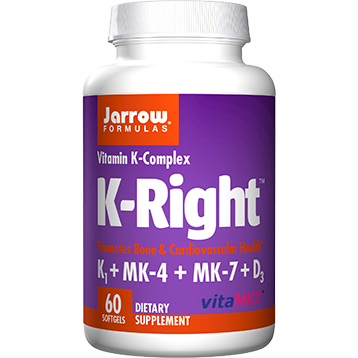 Jarrow Formulas K Right 60 softgels J30090
