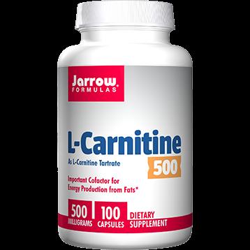Jarrow Formulas L Carnitine 500 mg 100 vcaps J20028