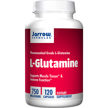 Jarrow Formulas L Glutamine 750 mg 120 caps J50121