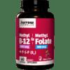 Jarrow Formulas Methyl B 12 Methyl Folate Cherry 60 loz J80197