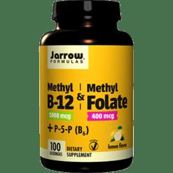 Jarrow Formulas Methyl B 12 amp Methyl Folate 100 lozenges J81080