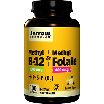 Jarrow Formulas Methyl B 12 amp Methyl Folate 100 lozenges J81080