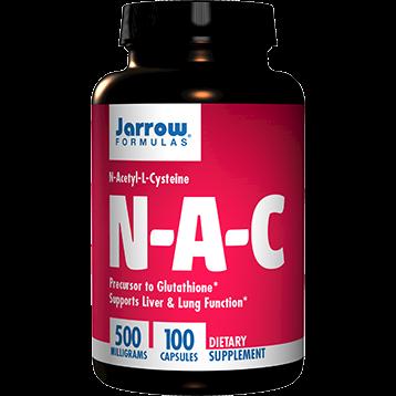 Jarrow Formulas N A C 500 mg 100 caps J70023