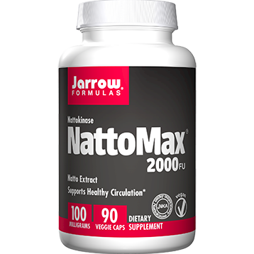 Jarrow Formulas NattoMax 2000 FU 100 mg 90 vegcaps J90438