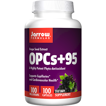 Jarrow Formulas OPCs95 Grape Seed Extr.100 mg 100 caps J40207