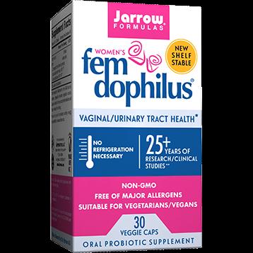 Jarrow Formulas Shelf Stable Fem Dophilus 30 vegcaps J03416