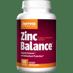 Jarrow Formulas Zinc Balance 15 mg 100 caps J30086