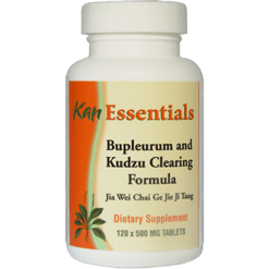 Kan Herbs Essentials Bupleurum and Kudzu Clearing 120 tablets VBK12