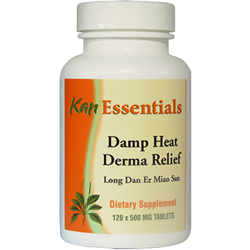 Kan Herbs Essentials Damp Heat Derma Relief 120 tablets VDH12