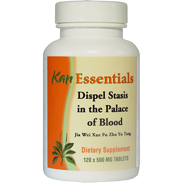 Kan Herbs Essentials Dispel Stasis in Palace of Blood 120 tablets VDP12