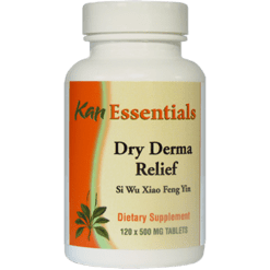 Kan Herbs Essentials Dry Derma Relief 120 tablets VDD12