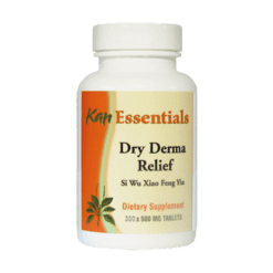 Kan Herbs Essentials Dry Derma Relief 300 tabs VDD30