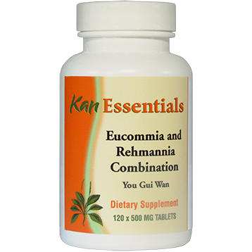 Kan Herbs Essentials Eucommia and Rehmannia Combina 120 tabs VER12