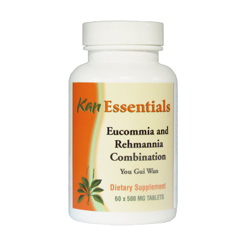 Kan Herbs Essentials Eucommia and Rehmannia Combinat 60 tabs VER60