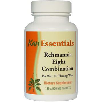 Kan Herbs Essentials Rehmannia Eight Combination 120 tablets VRE12