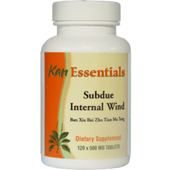 Kan Herbs Essentials Subdue Internal Wind 120 tabs VSW12
