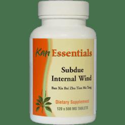 Kan Herbs Essentials Subdue Internal Wind 120 tabs VSW12