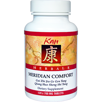 Kan Herbs Herbals Meridian Comfort 120 tabs MEC12