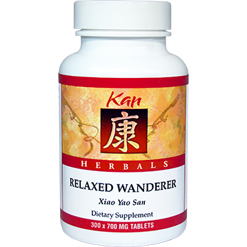 Kan Herbs Herbals Relaxed Wanderer 300 tablets RW300