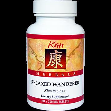 Kan Herbs Herbals Relaxed Wanderer 60 tabs RW60