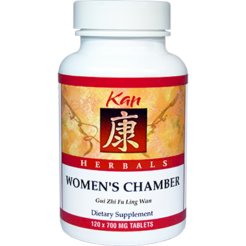 Kan Herbs Herbals Womens Chamber 120 tabs WC120
