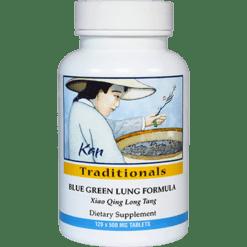 Kan Herbs Traditionals Blue Green Lung Formula 120 tabs BGL12