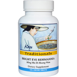 Kan Herbs Traditionals Bright Eye Rehmannia 120 tabs BTE12