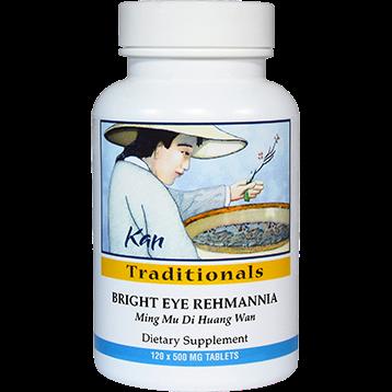 Kan Herbs Traditionals Bright Eye Rehmannia 120 tabs BTE12