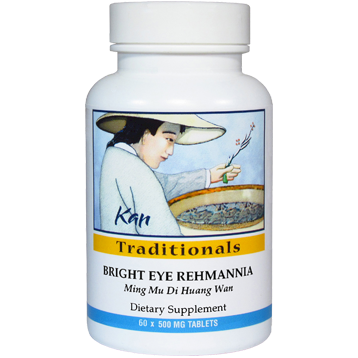 Kan Herbs Traditionals Bright Eye Rehmannia 60 tabs BTE60