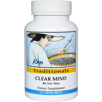 Kan Herbs Traditionals Clear Mind 60 tabs CMD60