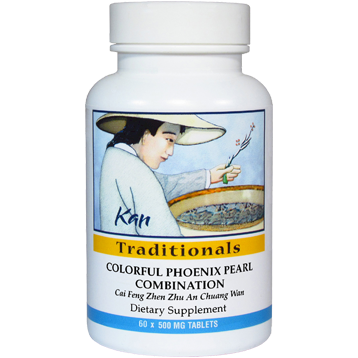 Kan Herbs Traditionals Colorful Phoenix Pearl Combo 60 tabs CP60
