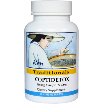 Kan Herbs Traditionals Coptidetox 60 tabs CDX60