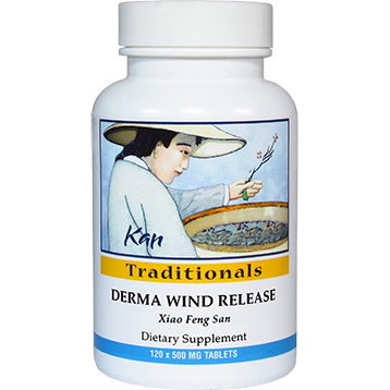 Kan Herbs Traditionals Derma Wind Release 120 tabs DWR12