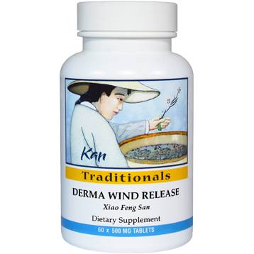 Kan Herbs Traditionals Derma Wind Release 60 tabs DWR60