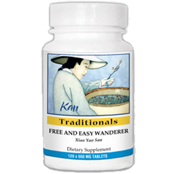 Kan Herbs Traditionals Free and Easy Wanderer 120 tabs FEW12