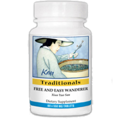Kan Herbs Traditionals Free and Easy Wanderer 60 tabs FEW60