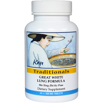 Kan Herbs Traditionals Great White Lung Formula 60 tabs GWL60