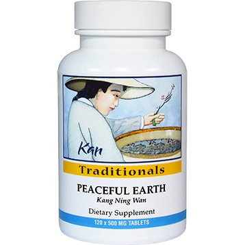 Kan Herbs Traditionals Peaceful Earth 120 tabs CF120