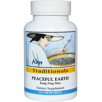 Kan Herbs Traditionals Peaceful Earth 60 tabs CF60