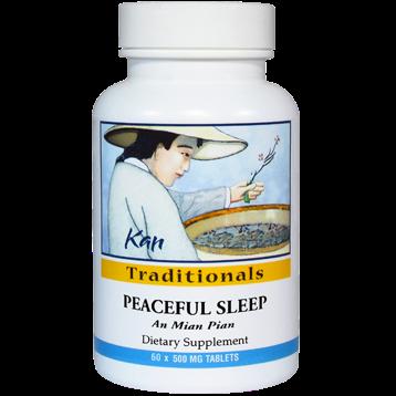 Kan Herbs Traditionals Peaceful Sleep 60 tabs PSL60