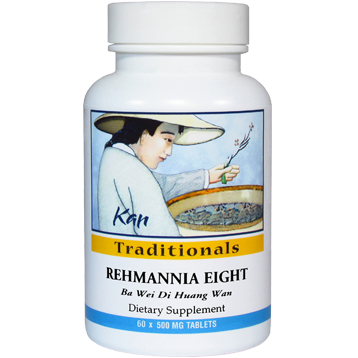 Kan Herbs Traditionals Rehmannia Eight 60 tabs REGT60