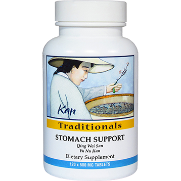 Kan Herbs Traditionals Stomach Support 120 tabs CTS12