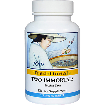 Kan Herbs Traditionals Two Immortals 120 tabs TI120