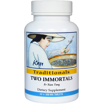 Kan Herbs Traditionals Two Immortals 60 tabs TI60